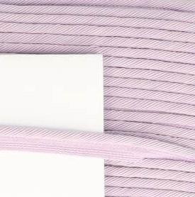 paspelband oud lila met gedraaid koord 4mm dik