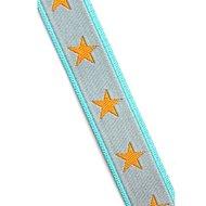 sterrenband-:-grijs-oranje