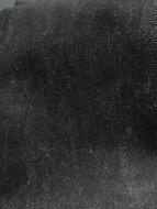 Helsinki: waterdichte stof met jeanslook:zwarte jeans mêlee (nog 125 cm)