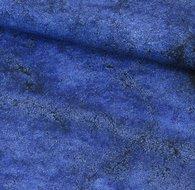 Grey stone blue: een wat dikkere zacht en soepele katoen