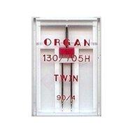Organ tweelingnaald 90/4