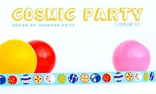 Cosmic-Party-turquoise-sierbandje