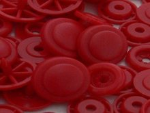 snap Circle rood kleur 54