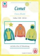 COMET--patroon-van-een-hoody-in-de-maten-74-80-158-164