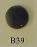 snaps grijs glanzend/ B39