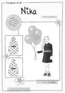 NIKA-patroon-van-een-tricot-jurk-in-de-maten-86-92-tot-en-met-158-164