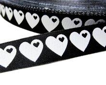 byGraziela-hartjes-zwart-wit-sierbandje