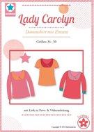 Lady Carolyn, shirt in de maten  34, 36, 38, 40, 42, 44, 46, 48, 50