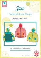 Jace, patroon van een jack in de maten  74/80, 86/92, 98/104, 110/116,...