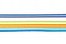taille-elastiek 2,5 cm breed: streep/HALVE METER