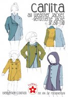 Carlita , all weather jas in de maten 86 t/m 170