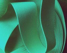 taille-elastiek 4 cm breed: donker mint /HALVE METER