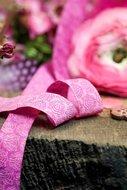 Donna Fiona: sierbandje roze/donkerroze