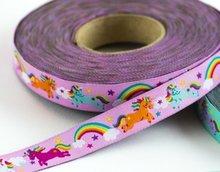 Rainbow-Unicorns-:-sierbandje-roze