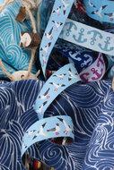 meeuwen-band lichtblauw uit deOn The Open Sea-serie vanLilaLotta