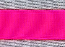taille-elastiek 4 cm breed: neon roze /HALVE METER