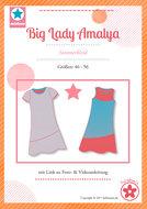 Big Lady Amalya, zomerjurk in de maten 46 t/m 56