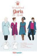Gloria, overslagjurk of vest in de maten 32 t/m 48 van Milchmonster