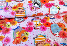 Fabric fever by Cherry Picking, katoenen canvas