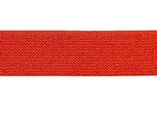 glitter-taille-elastiek rood 2,5 cm breed:  / HALVE METER