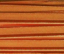 elastisch paspelband, roest-oranje