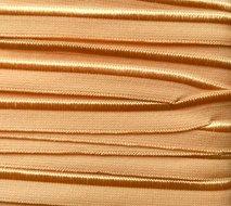 elastisch paspelband, licht zalmoranje-abrikooskleur