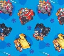 Paw Patrol, tricot met de bekende hondjes in verschillende voertuigen