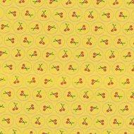 Jana, schattig tricootje geel met kersjes