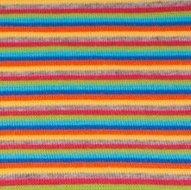 fijne boordstof gestreept: 2mm strepen: donkerblauw/aqua/lime/rood/grijs/geel/oranje