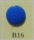 snaps hardblauw glanzend/B16