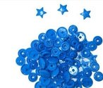 snaps-felblauw-glanzend-ster:-kleur-8
